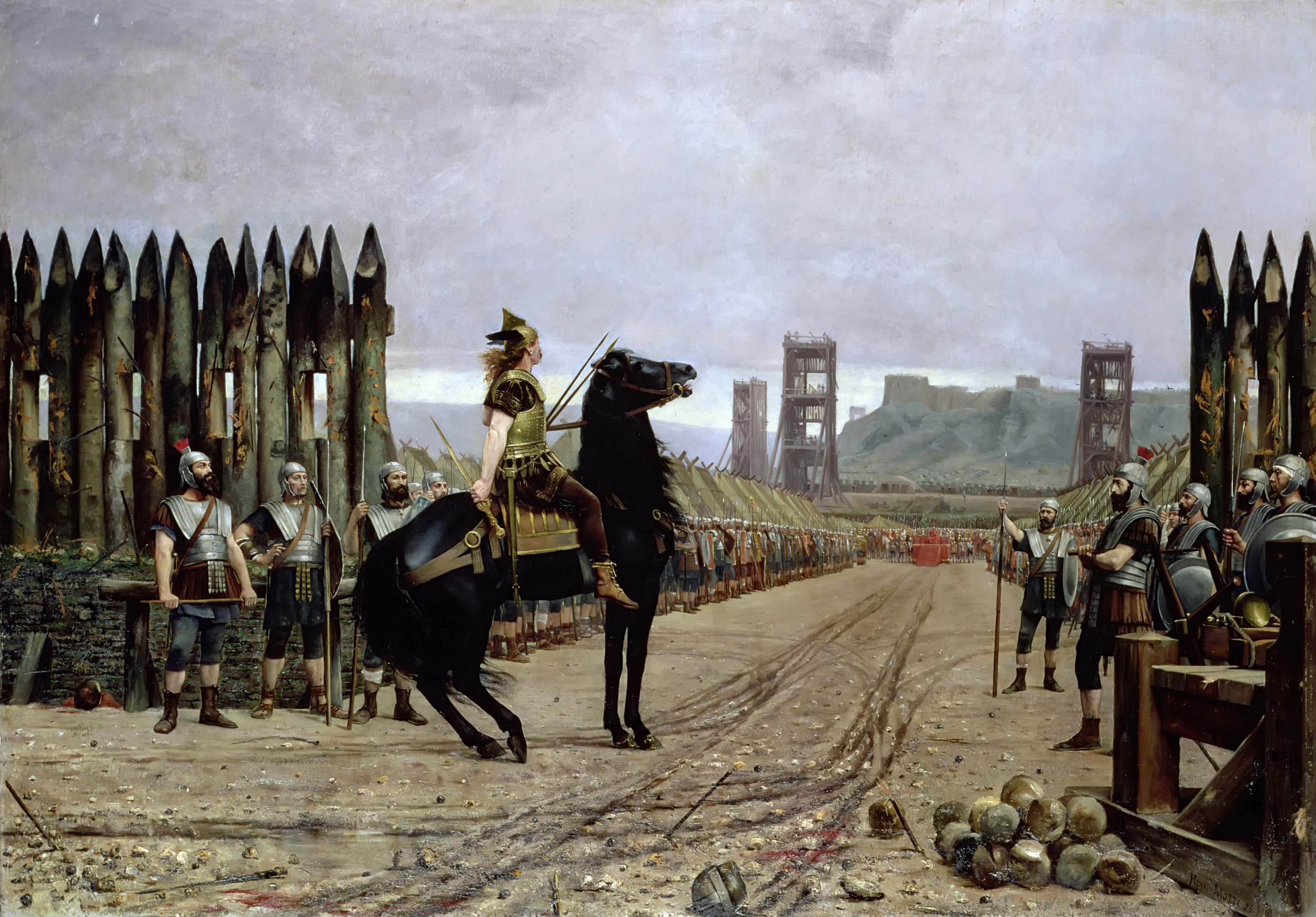 Henri-Paul Motte, Vercingetorix