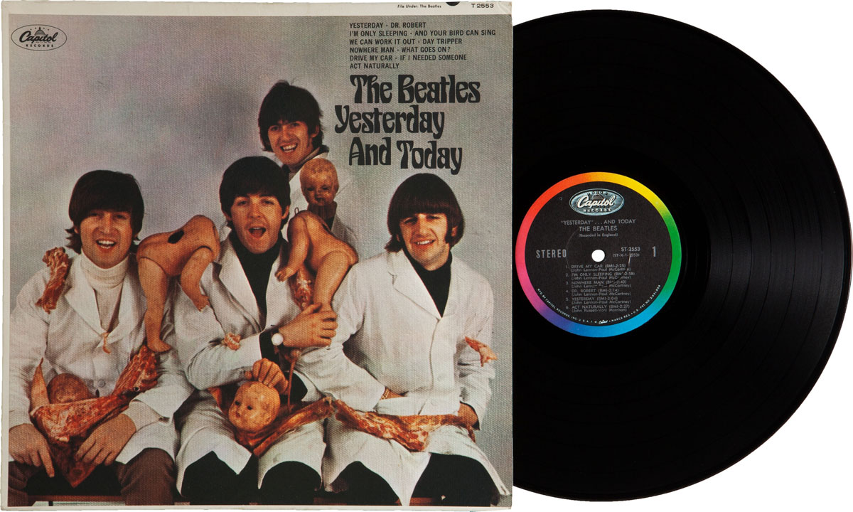 "The Beatles Yesterday And Today Rare First State ""Butcher Cover"" LP"