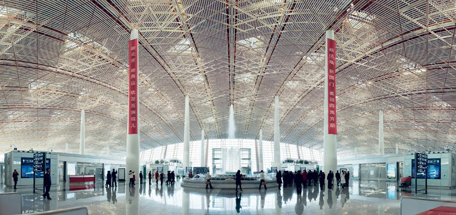 Beijing airport, Norman Foster Partners