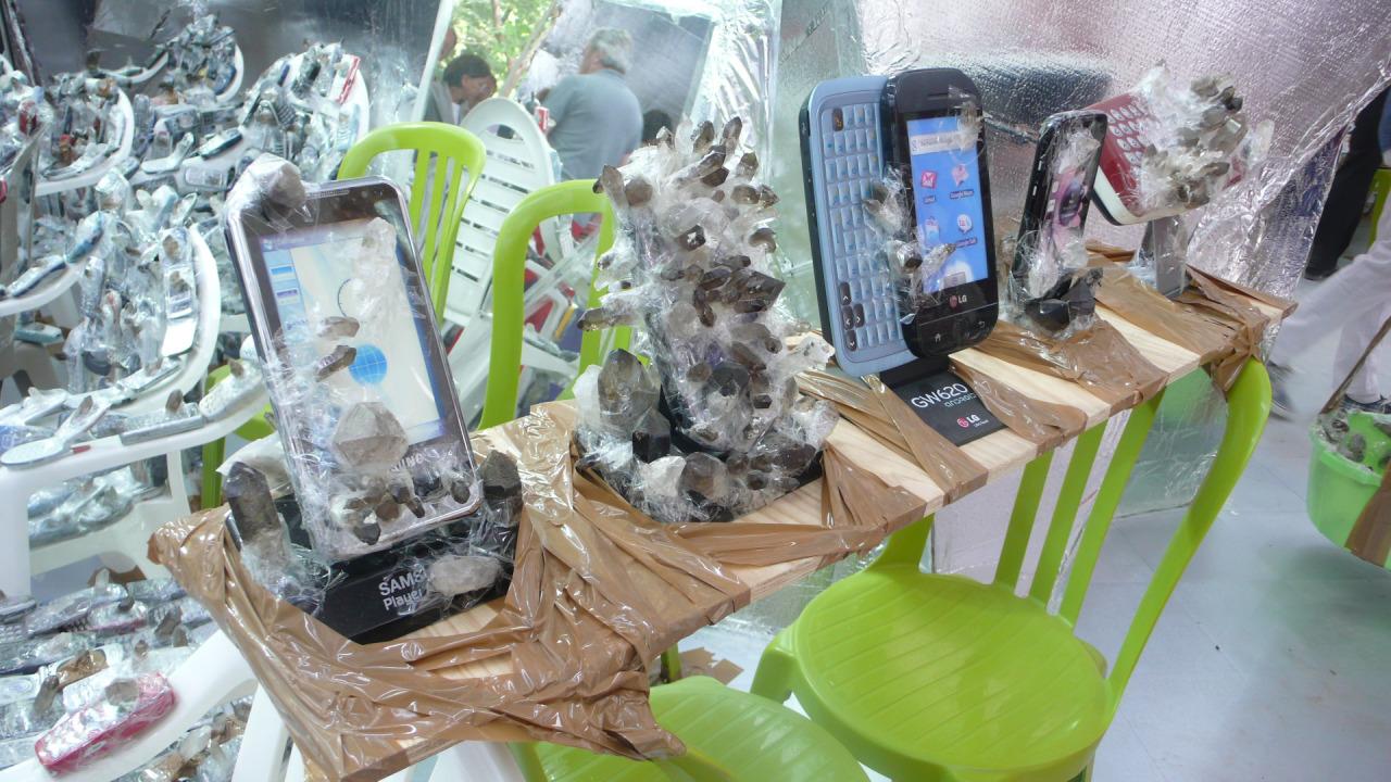 Hirschorn Cellphones