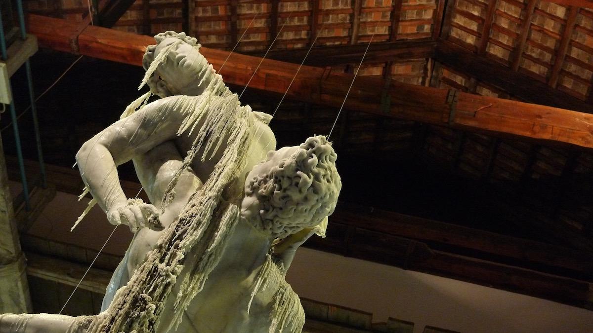 Urs Fischer Wax Sculpture