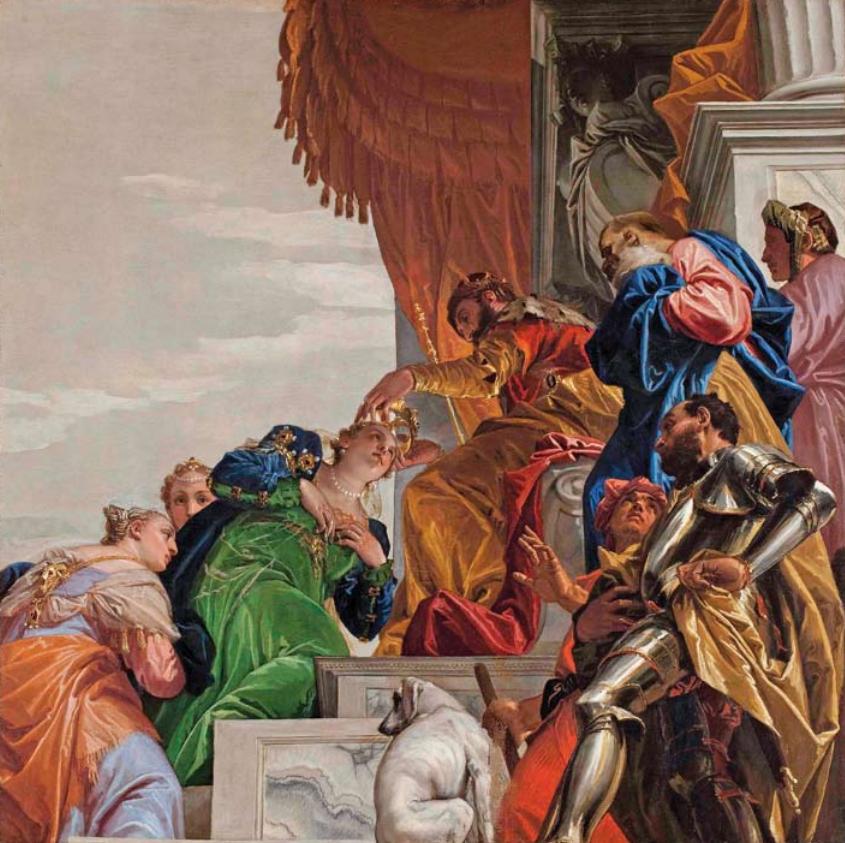 Veronese Coronation of Esther Save Venice
