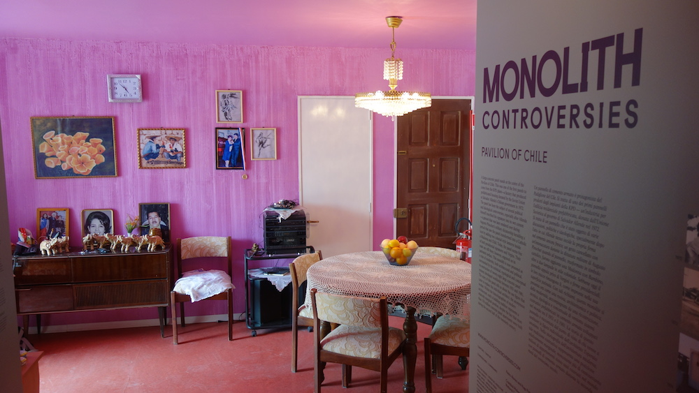 A full scale replica of Mrs. Silvia Guitiérrez's apartment, furnished with 514 of her possessions, shows how Socialist prefab concrete industrial standardization becomes personalized.