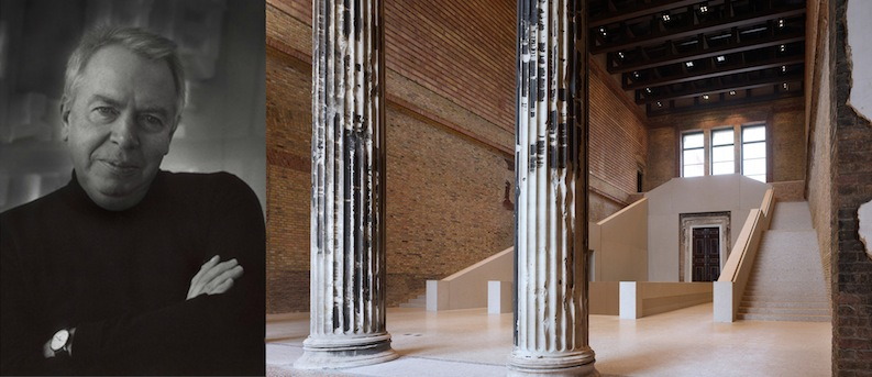 "David Chipperfield and his recently renovated Neues Museum, in Berlin. The trials and tribulations of this project gave him new strategies to ""get things done"" that are valuable to the rest of us."