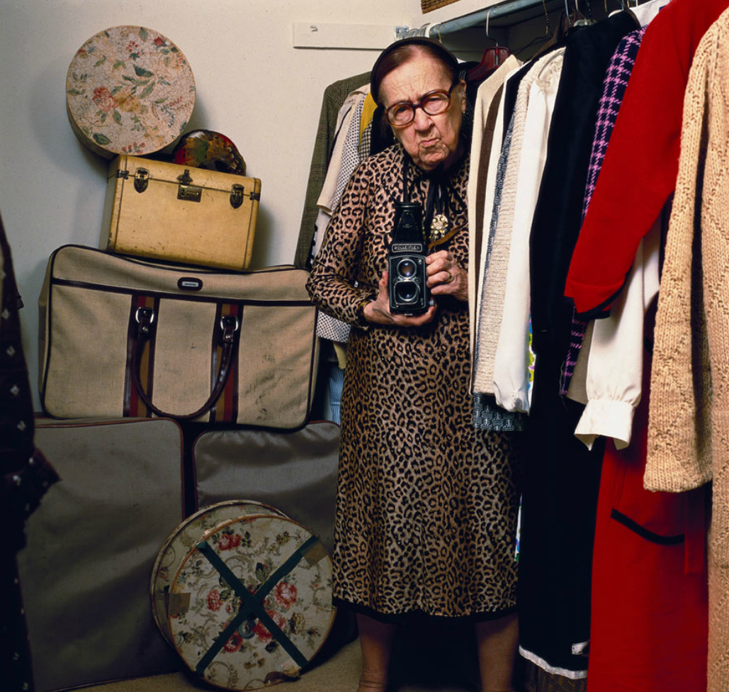 Portrait of Louise Dahl-Wolfe; a fashion muse.