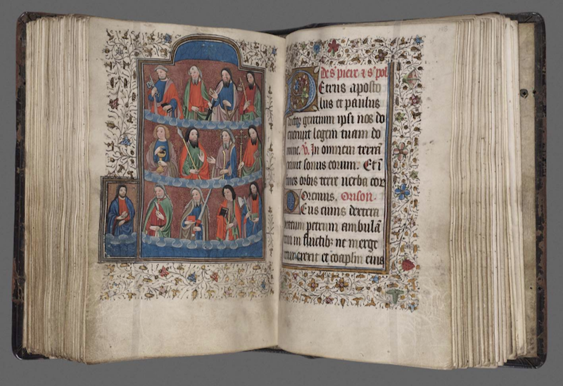 This prayer book from the Boston Museum of Fine Arts collections was made for a wealthy woman