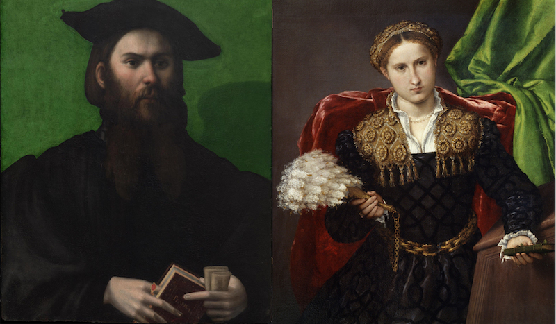 Oil portraits by Bronzino and Lorenzo Lotto featured sitters proudly displaying their new passion.