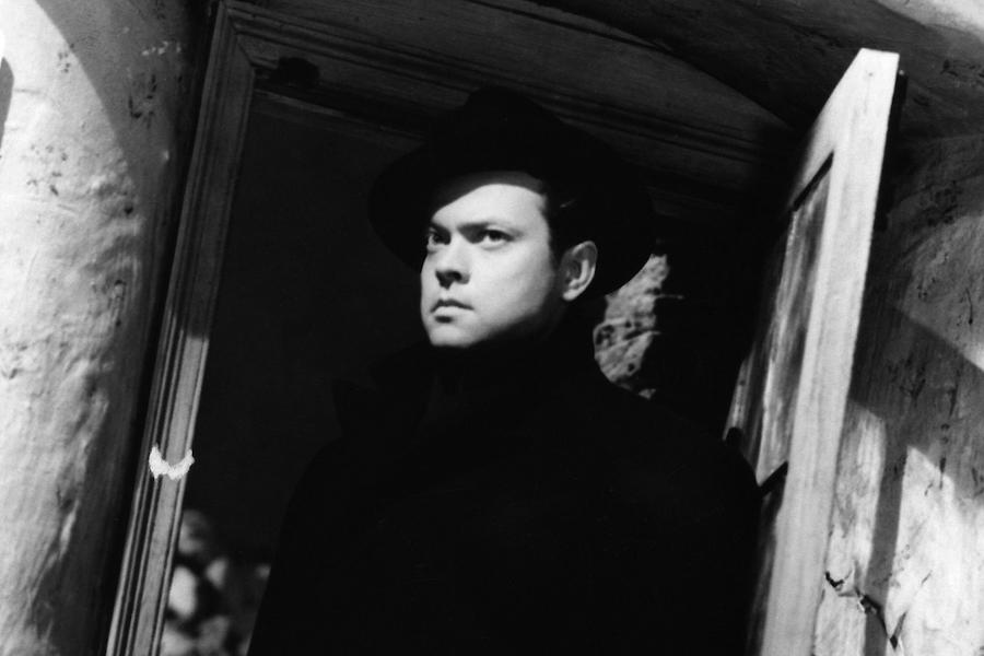 Orson Welles as he appears from the shadows in Carol Reed's unforgettable post war masterpiece, The Third Man