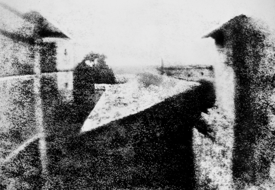View from the Window at Le Gras by Nicéphore Niépce